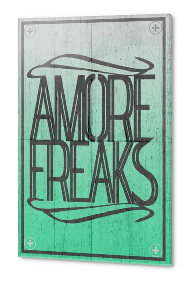 AMORE FREAKS Acrylic prints by Chrisb Marquez