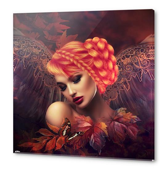 AUTUMN ANGEL Acrylic prints by G. Berry