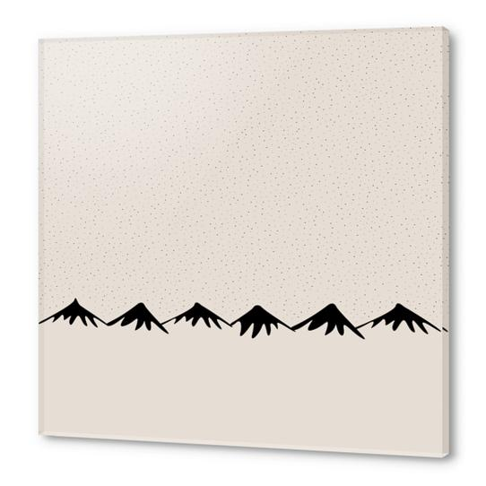 Snow and mountain by PIEL Acrylic prints by PIEL Design