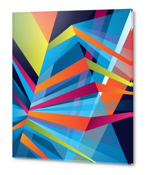 Prisme #04 Acrylic prints by Azarias