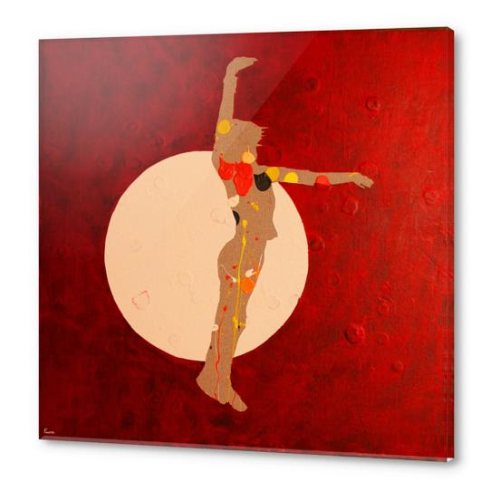 Dancing In The Moon Acrylic prints by Pierre-Michael Faure