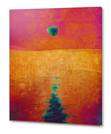 Red Eclipse Acrylic prints by Malixx