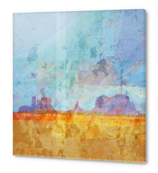 Monument VAlley Acrylic prints by Malixx