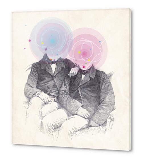Goncourt Brothers Acrylic prints by tzigone