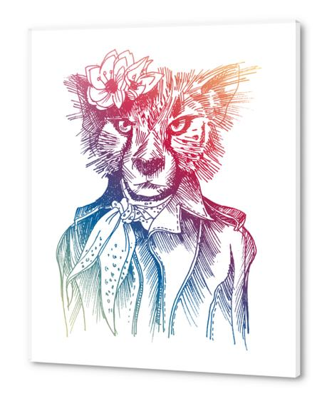 Cute Cheetah Acrylic prints by Georgio Fabrello