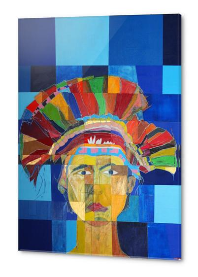 Indian  Acrylic prints by Pierre-Michael Faure