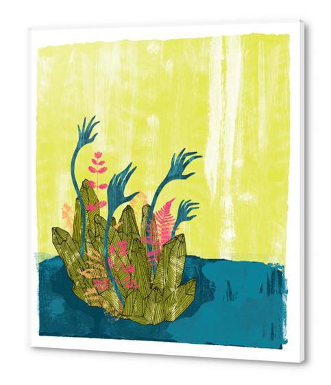 l'isola di calipso Acrylic prints by junillu
