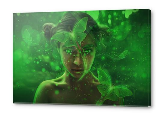 Luna Acrylic prints by AndyKArt