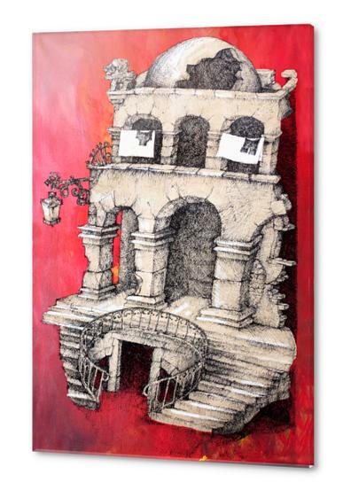 La Maison Visage Acrylic prints by Georgio Fabrello