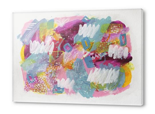 My Garden Acrylic prints by Li Zamperini