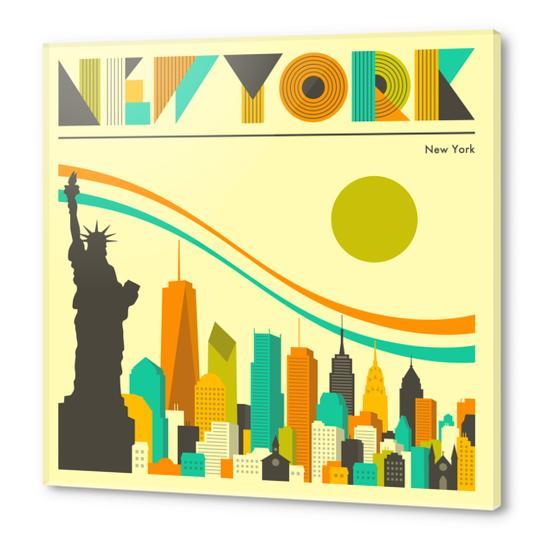 NEW YORK Acrylic prints by Jazzberry Blue