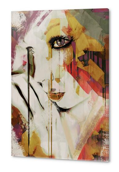 Abstract Portrait - Pages Acrylic prints by Galen Valle
