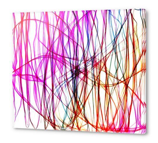 PIXEL RAINBOW Acrylic prints by Chrisb Marquez