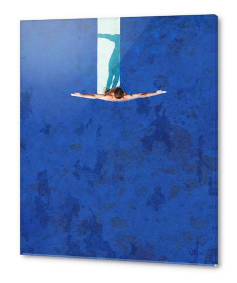 Le Plongeoir Acrylic prints by Malixx