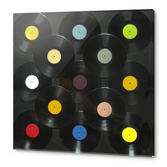 Serial Disker Acrylic prints by di-tommaso