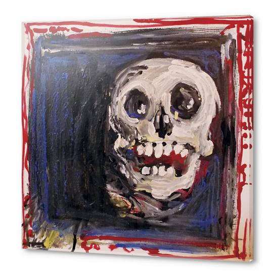 Smiling Skull Acrylic prints by Georgio Fabrello