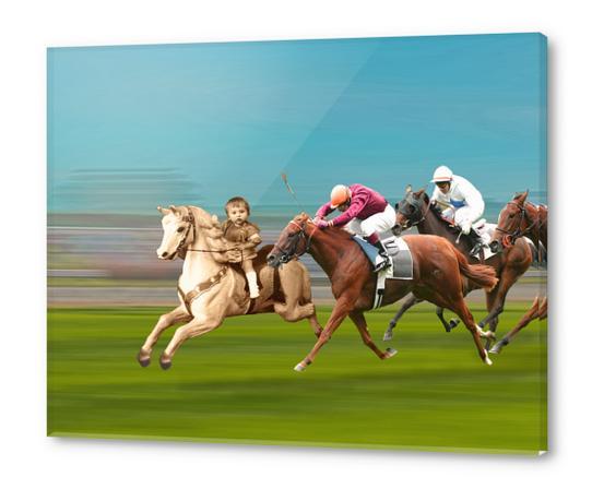 The Race Acrylic prints by tzigone