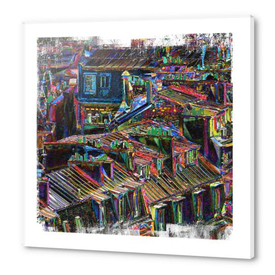 Roofs in Paris Acrylic prints by Malixx