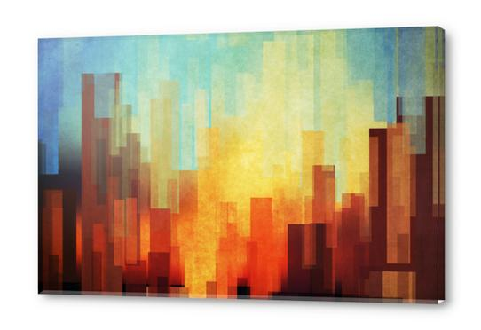 Urban Sunset Acrylic prints by DejaReve