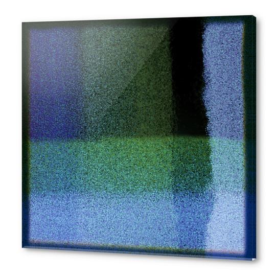 Blues variation Acrylic prints by Malixx