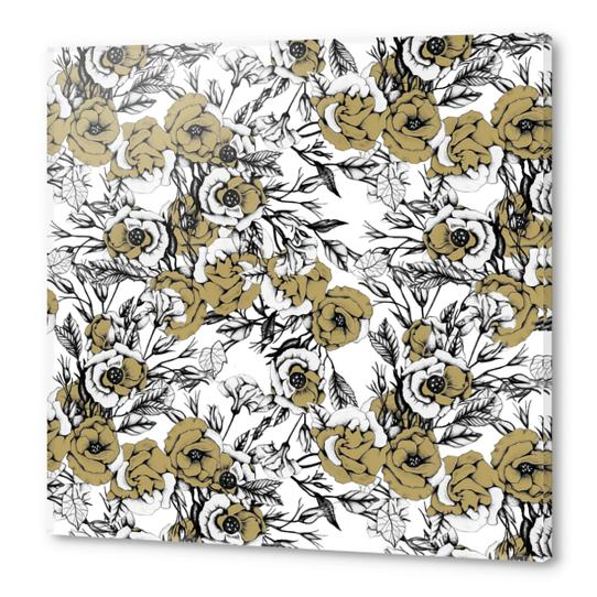 Pattern flowery 03 Acrylic prints by mmartabc