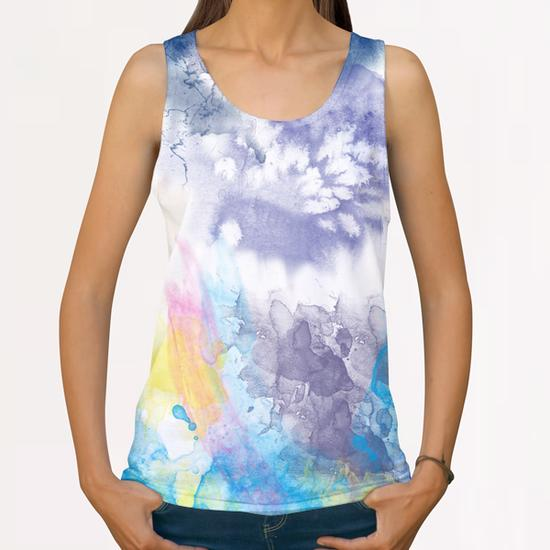Ink#1 All Over Print Tanks by Amir Faysal