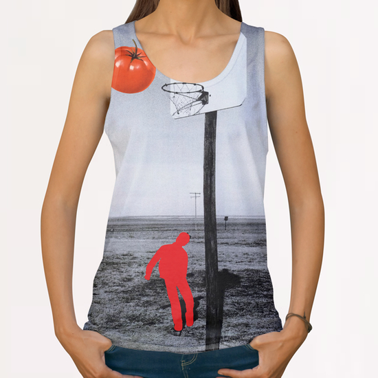 Tomato All Over Print Tanks by Lerson