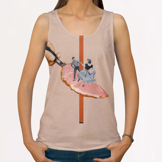 Dancing All Over Print Tanks by Lerson