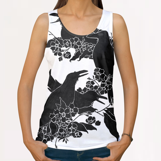 A Feast For Crows All Over Print Tanks by Tobias Fonseca
