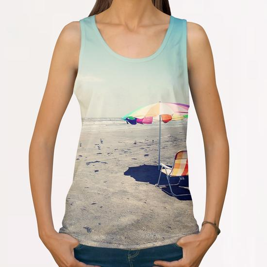 Beach Day All Over Print Tanks by Trish Mistric