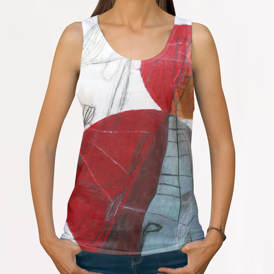 Composition 10 All Over Print Tanks by Jean-Noël Bachès