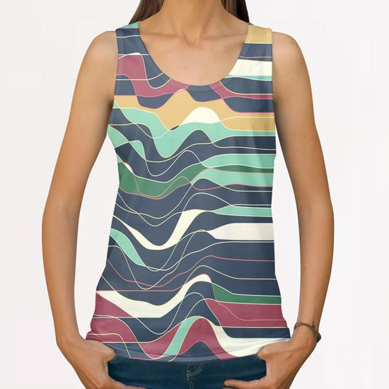 Don´t Move IX All Over Print Tanks by Metron