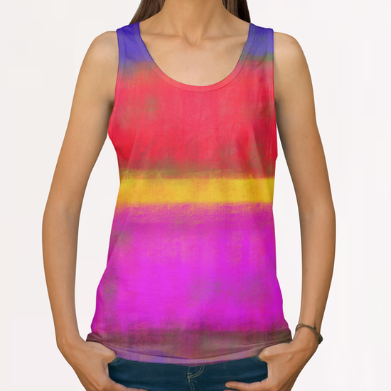 My Rothko All Over Print Tanks by Malixx