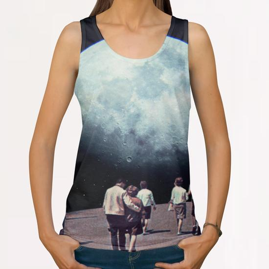 Way Back Home All Over Print Tanks by Frank Moth
