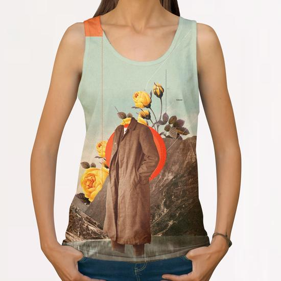 You Will Find Me There All Over Print Tanks by Frank Moth