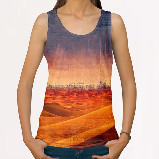 Desert All Over Print Tanks by Malixx