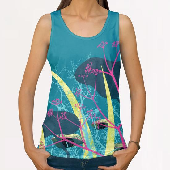 la foresta di circe All Over Print Tanks by junillu