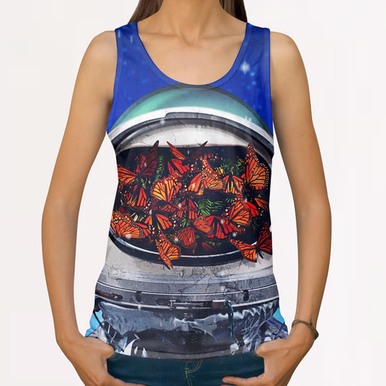 within All Over Print Tanks by Seamless
