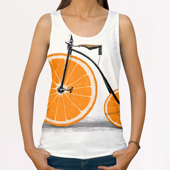 Vitamin All Over Print Tanks by Florent Bodart - Speakerine