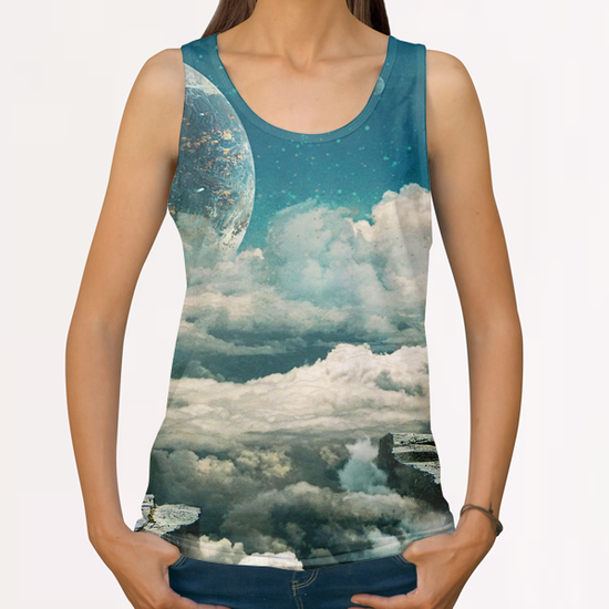 The explorer All Over Print Tanks by Seamless