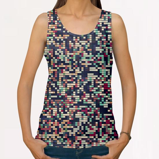 Pixelmania III All Over Print Tanks by Metron