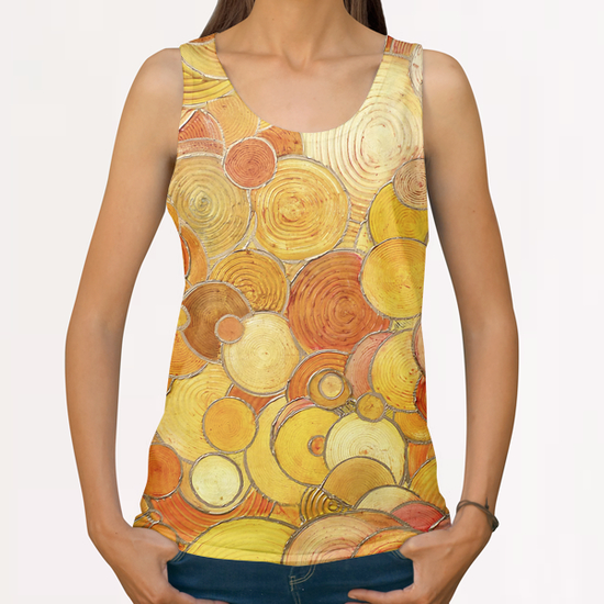Pop-Bubbles All Over Print Tanks by di-tommaso