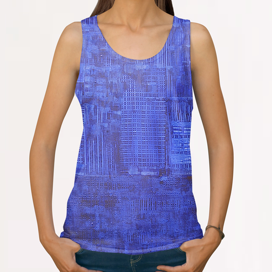 Ville Azur All Over Print Tanks by di-tommaso