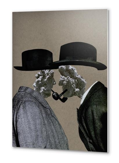 Smoke (II) Metal prints by Lerson