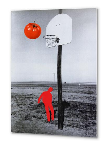 Tomato Metal prints by Lerson