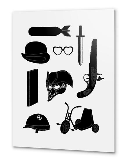 2011 - A Kubrick Odyssey Metal prints by Florent Bodart - Speakerine