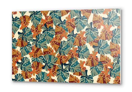 Floralz #37 Metal prints by PIEL Design