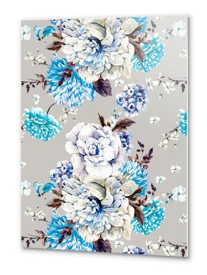 Blooming Flowers I Metal prints by mmartabc