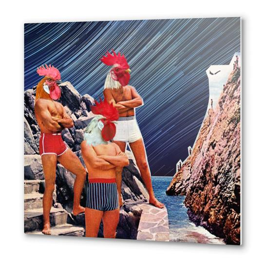 Flying in Acapulco Metal prints by tzigone