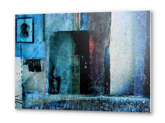 BEHIND THE MIRROR Metal prints by db Waterman